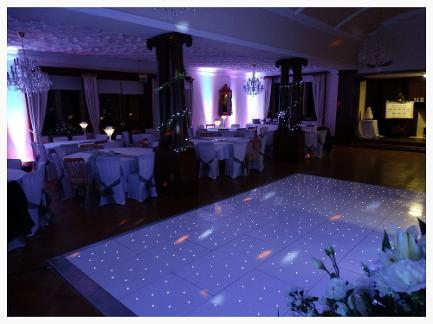 LED Dance floor hire Durham