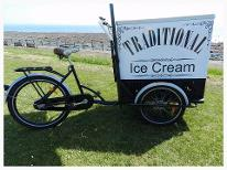 Traditional Ice Cream Cart and tricycle