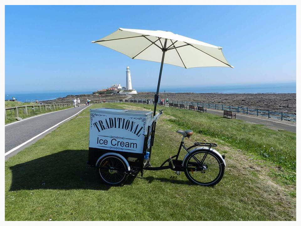 North East Ice Cream van hire for weddings