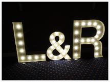light up letters newcastle