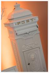 Luxury post box hire